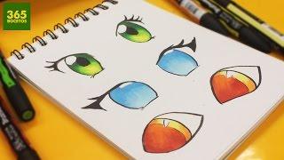 Como Dibujar Ojos Kawaii Videos Ytube Tv