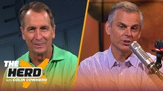 Cris Collinsworth disagrees with Colin on Baker, talks Hard Knocks, Packers, Brady | NFL | THE HERD