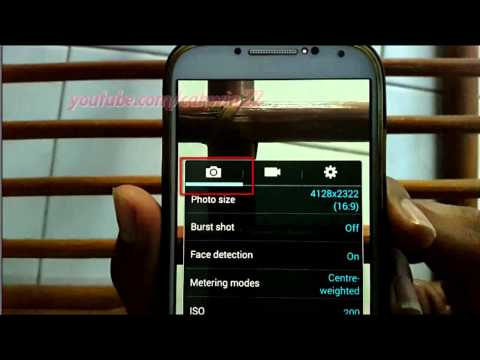 Android Phone : How to Turn on or turn off Auto Night Detection in Samsung Galaxy S4