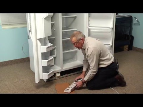 Kenmore Refrigerator Repair – How to replace the Filter Inlet Water Tube