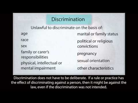 Employment law in WA (subtitles)