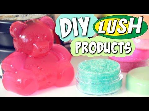 DIY LUSH Lip Scrub & Shower Jelly + HAUL - SoCraftastic