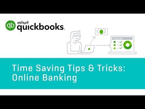 Tips & Tricks: Online Banking   QuickBooks Online Tutorial 2018
