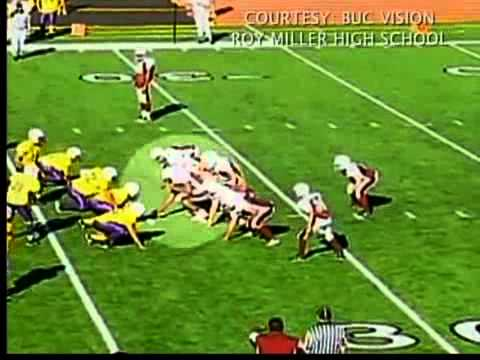 Middle School football trick play