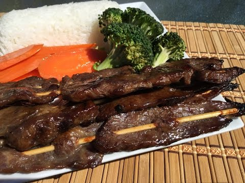 How To Make Beef Teriyaki Grilled-Asian Food Recipes