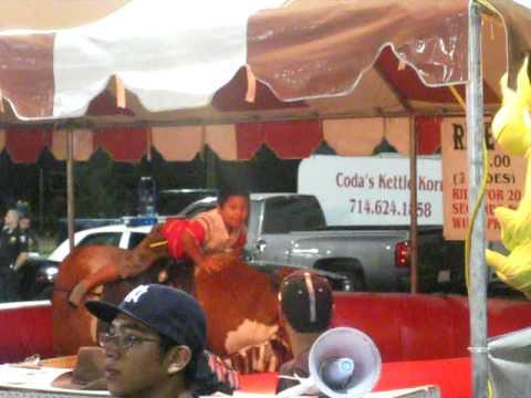 Fair 2009(Kid Tries Riding Mechanical Bull)