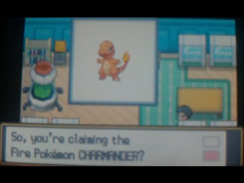 How to get Charmander, Bulbasaur, and Squirtle - Pokemon Heart Gold and Soul Silver