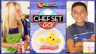 Breakfast Recipe Challenge on Chef Set Go! | Official Orbeez