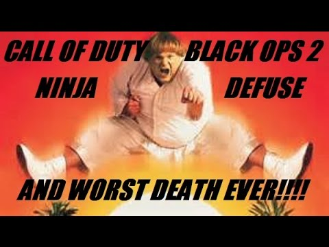 Ninja Defuse Call Of Duty Black Ops 2 With Schmudthedarth