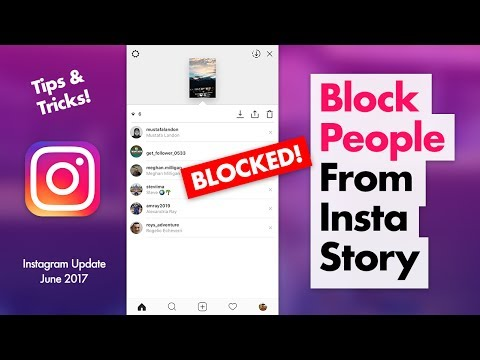 How to Block People from Viewing Your Instagram Story