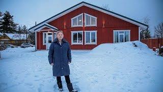 Каркасный дом по скандинавским мотивам // FORUMHOUSE