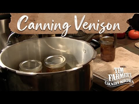 Old Fashioned Pressure Canning Meat (Venison)