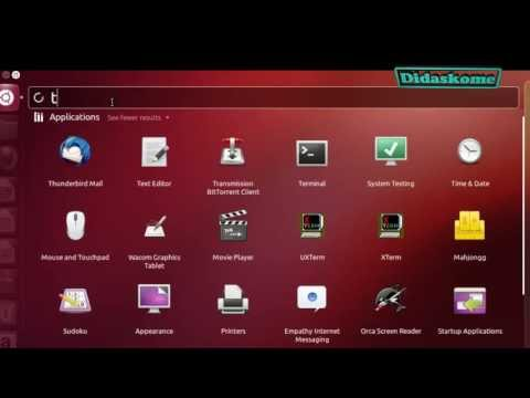 أوبونتو : تغيـيـــــــــر لغة لوحة المفــاتيح   Ubuntu change keyboard Layout Arabic English French