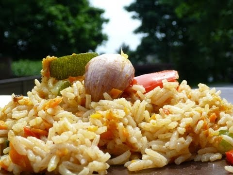 Rice Recipes - Vegetable Rice Pilaf