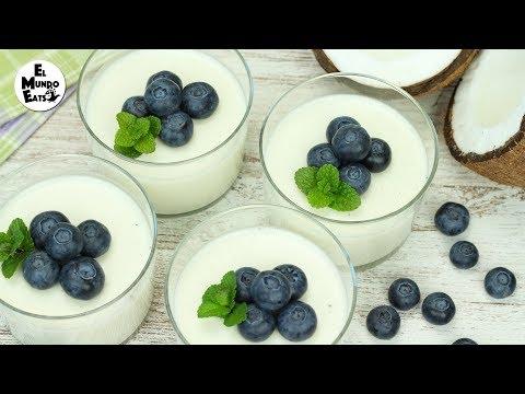 Homemade Coconut Panna Cotta | El Mundo Eats recipe #178