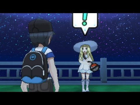 MYSTERIOUS LILLIE Found In Pokémon Sun & Moon Special Demo