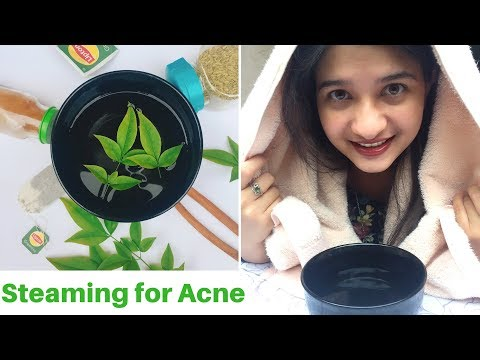Steaming for Acne prone skin in Hindi | Steaming at home | Steam cleansing | skin care | AVNI