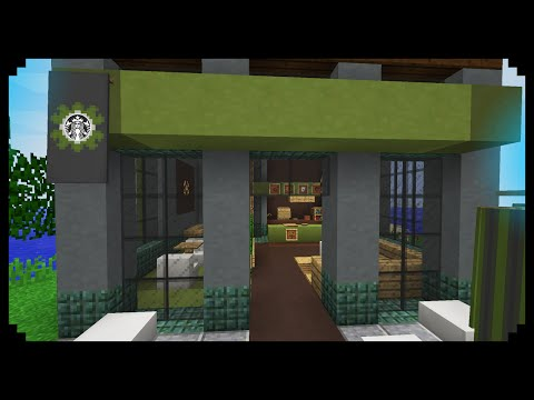 ✔ Minecraft: How to make a Starbucks