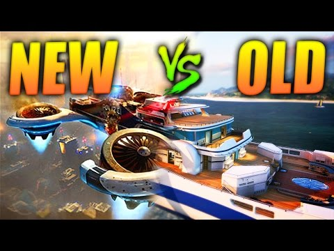 BO2 Hijacked vs. BO3 Skyjacked Map Comparison!