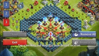 Castle Clash HBM T Victory without Vlad, Moltanica or Ghoulem