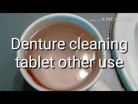 It cleans a lot more than dentures