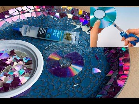 How to Cut CD DVD into Shapes without Cracks ||  Как вырезать CD-DVD в фигуры без трещин