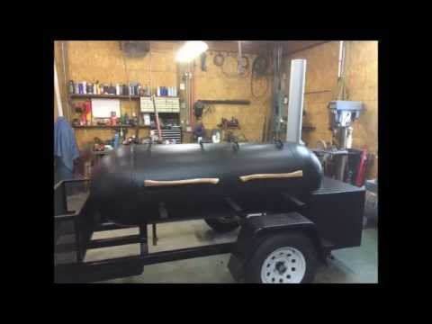 Reverse Flow Smoker Build 250 Gallon Propane Tank