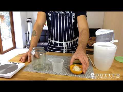Making Water Kefir The Easy Way - Day 1