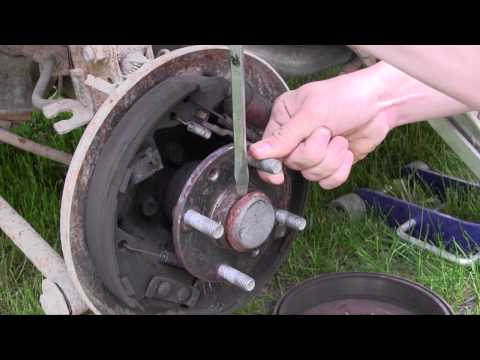 Ford Escort Wheel Bearing Replacement