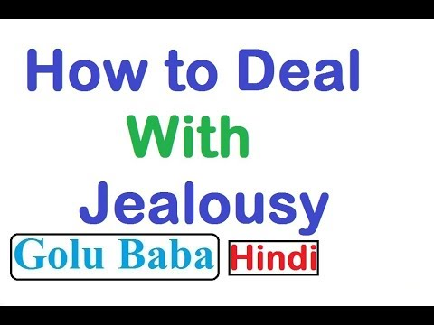 How to Deal with Jealousy [ Hindi ]
