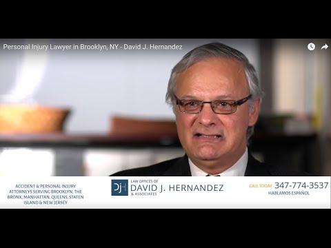 Personal Injury Lawyer in Brooklyn, NY - David J. Hernandez