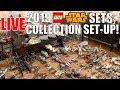 Download Video Download 🔴Collection Set-Up + LEGO Star Wars 2019 Set Talk! 3GP MP4 FLV