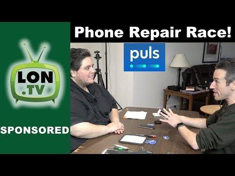 iPhone Screen Repair Race with a Puls.com Technician!