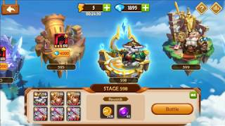 IdleHeroes Private Server Tower 500 defeat by meh