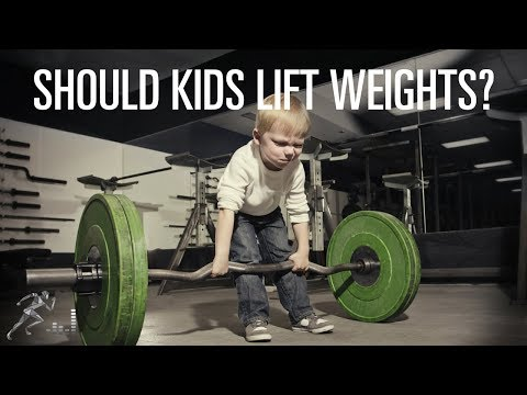 Strength training as a way to get kids to exercise