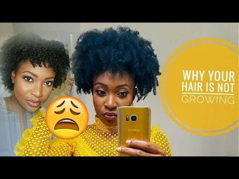THE Real Reasons Your 4C Hair Is Not Growing!!
