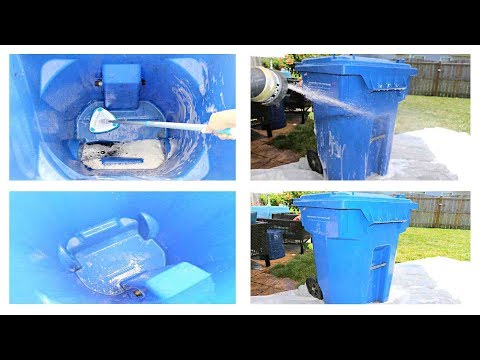 [WIKIDIY] How to Clean Outdoor Garbage  Cans  Naturally