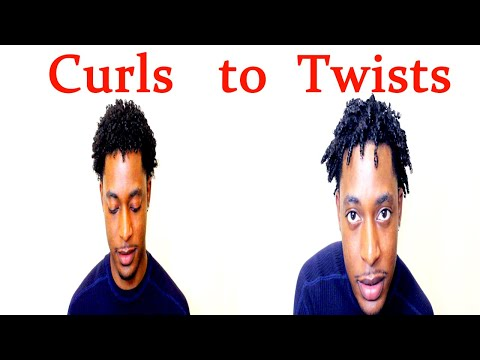 HOW TO GET TWISTS WITH HAIR SPONGE FOR MEN   WINSTONEE