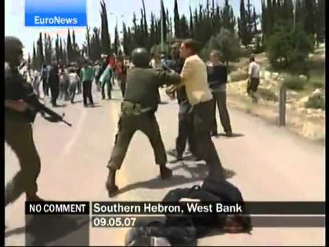 Israeli soldiers beat Jews for helping the enemy   YouTube