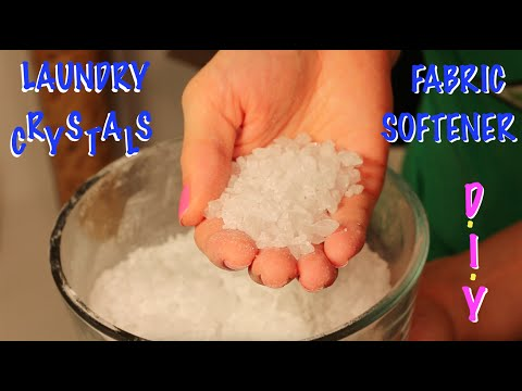 How To Make Fabric Softener Crystals