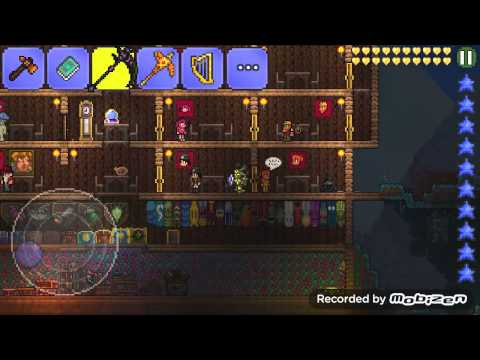 How to make corruption key in terraria