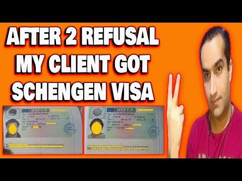 My Client Got Schengen Visa After 2 Refusal