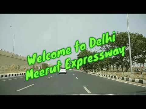 Driving in Delhi Meerut Expressway