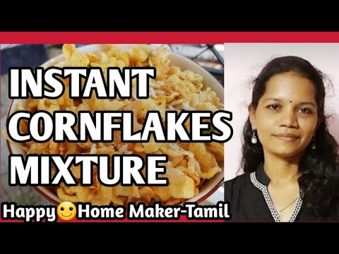 Easy Cornflakes Mixture - 15 min | Women's Day Special