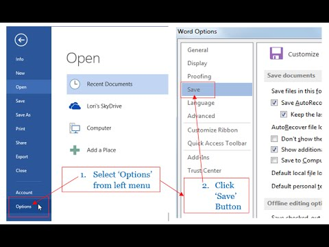 How to Convert or Save Word, Excel and PowerPoint Files into Older Version