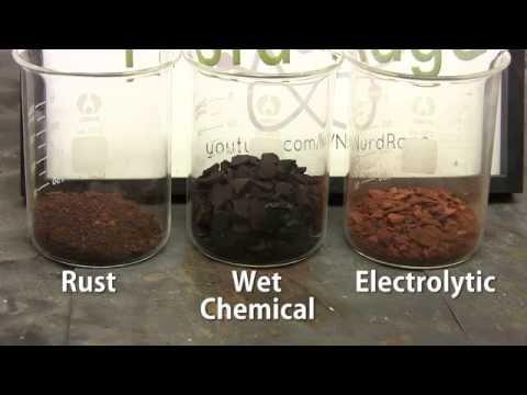 Make Iron Oxide (for Thermite)