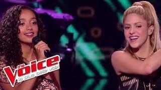 lucie shakira et black m comme moi the voice 2017 live