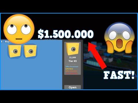 ROBLOX JAILBREAK HOW TO GET $1.500.000 MONEY FAST!