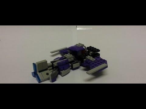 Lego Transformer Fall of Cybertron Shockwave #68