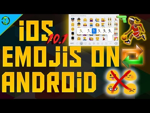 How To Get iOS 10 Emojis On Android Device [All Races]